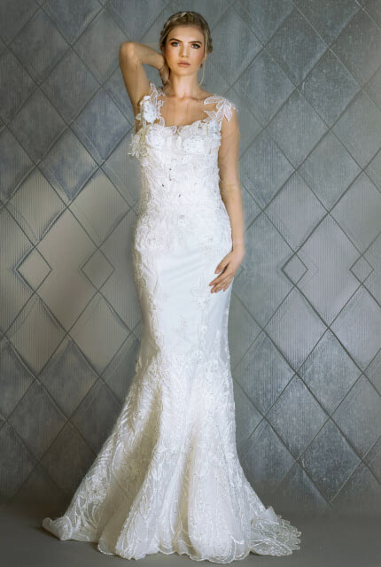 Bespoke / Other – Size 12 Sheath dress | Second hand wedding dresses Melbourne - 3
