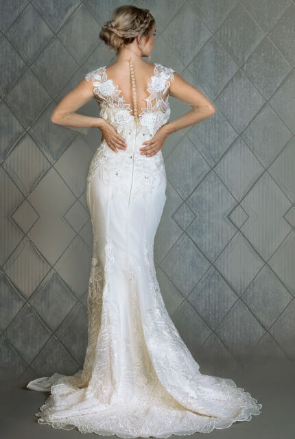Bespoke / Other – Size 12 Sheath dress | Second hand wedding dresses Melbourne - 4