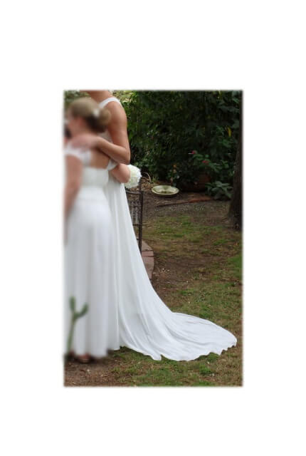 Bespoke / Other – Size 12 Sheath dress | Second hand wedding dresses croydon - 2