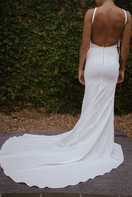 Made With Love – Size 6 Slip dress | Second hand wedding dresses The Junction - 2