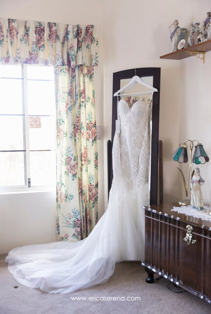 Pallas Couture – Size 8 Fishtail dress | Second hand wedding dresses Piara Waters - 7