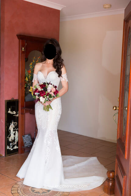 Pallas Couture – Size 8 Fishtail dress | Second hand wedding dresses Piara Waters - Size 8