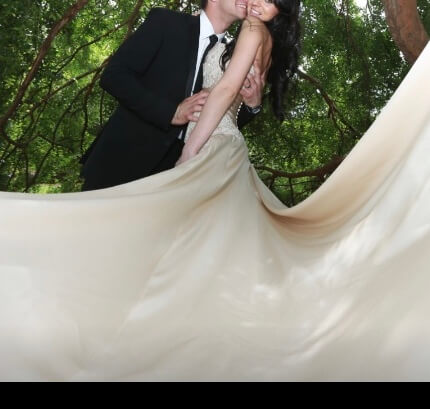 Vincenzo Pintaudi Couture – Size 6 Strapless dress | Second hand wedding dresses Glen Waverley - 6