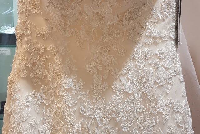 Kylie J Bridal – Size 6 Fit and Flare dress | Second hand wedding dresses Chadstone - 7