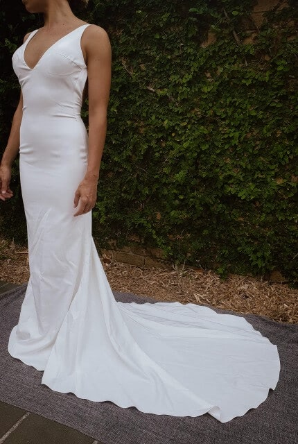 Made With Love – Size 6 Slip dress | Second hand wedding dresses The Junction - 3