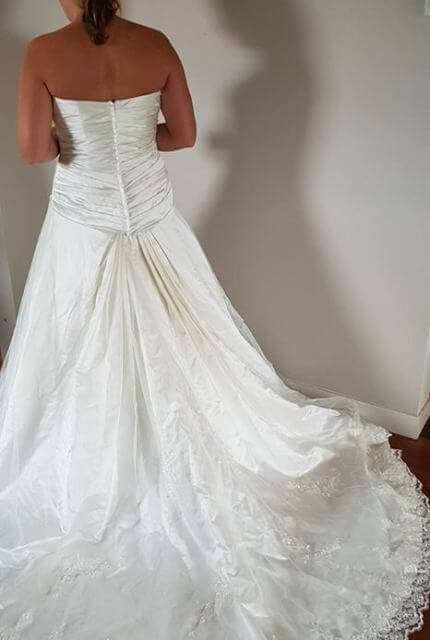 Bespoke / Other – Size 14 A-Line dress | Second hand wedding dresses Wavell Heights - Size 14