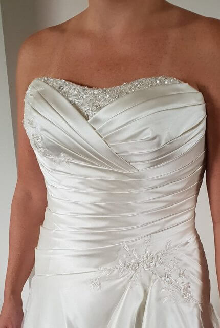 Bespoke / Other – Size 14 A-Line dress | Second hand wedding dresses Wavell Heights - 2