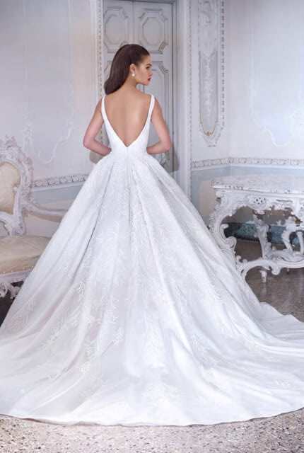 Demetrios – Size 8 Ball Gown dress | Second hand wedding dresses Altona north - 2