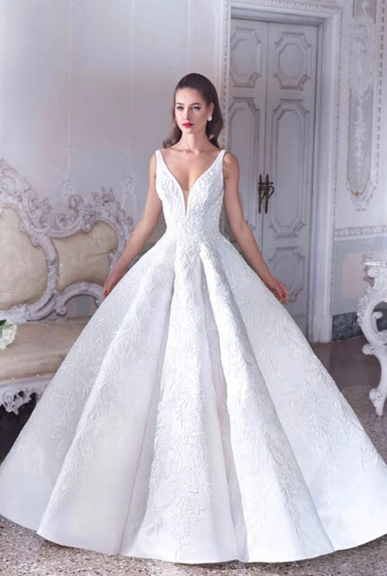 Demetrios – Size 8 Ball Gown dress | Second hand wedding dresses Altona north - Size 8