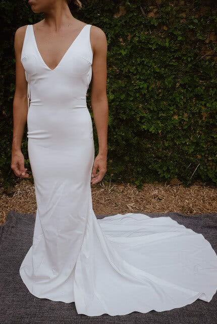 Made With Love – Size 6 Slip dress | Second hand wedding dresses The Junction - Size 6