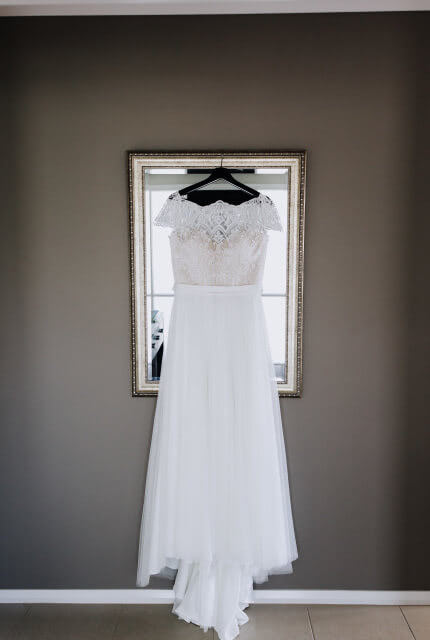 Bespoke / Other – Size 12 A-Line dress | Second hand wedding dresses TRAFALGAR - 4