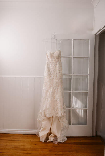 Kylie J Bridal – Size 6 Fit and Flare dress | Second hand wedding dresses Chadstone - 5
