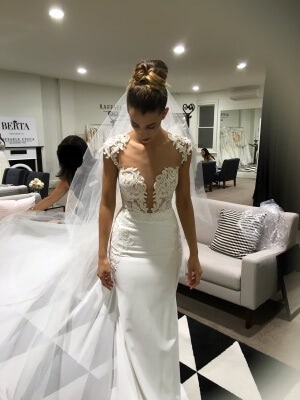 Ball Gown dress by Berta