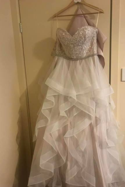 Bespoke / Other – Size 14 Strapless dress | Second hand wedding dresses Blakeview - 3