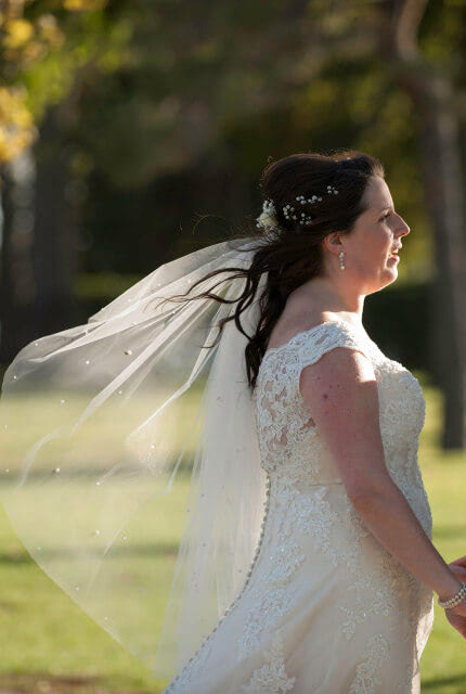 Stella York – Size 18 Fit and Flare dress | Second hand wedding dresses Adelaide - 2
