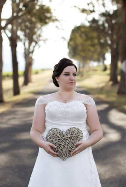 Brides By Mancini – Size 22 A-Line dress | Second hand wedding dresses Narre  Warren - Size 22
