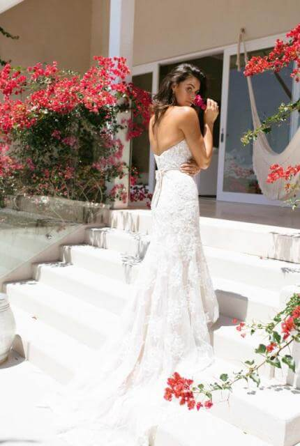 Bespoke / Other – Size 14 Fit and Flare dress | Second hand wedding dresses Tallong - 3