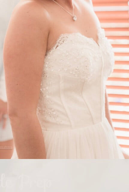 Bespoke / Other – Size 8 Strapless dress | Second hand wedding dresses Palm Beach - 6