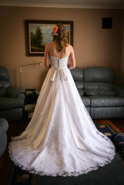 Mori Lee – Size 10 Ball Gown dress | Second hand wedding dresses Enfield - 2