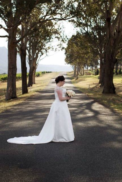 Brides By Mancini – Size 22 A-Line dress | Second hand wedding dresses Narre  Warren - 2