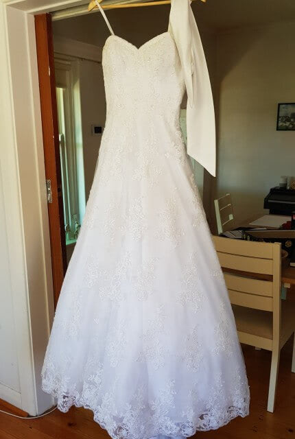 Mori Lee – Size 10 Ball Gown dress | Second hand wedding dresses Enfield - 5