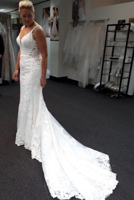Martina Liana – Size 14 Fit and Flare dress | Second hand wedding dresses Freshwater - 9