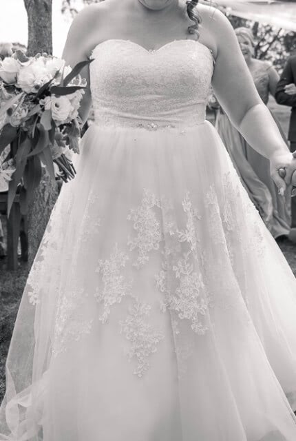 Bespoke / Other – Size 16 A-Line dress   Second hand wedding dresses Lithgow - Size 16