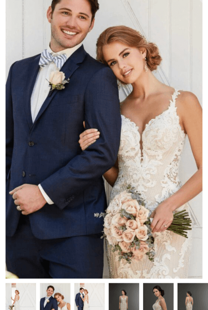 Martina Liana – Size 14 Fit and Flare dress | Second hand wedding dresses Freshwater - 2