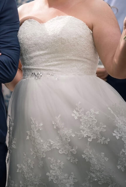 Bespoke / Other – Size 16 A-Line dress   Second hand wedding dresses Lithgow - 6