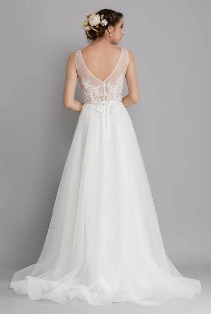 Caleche – Size 8 A-Line dress | Second hand wedding dresses East Melbourne - 8