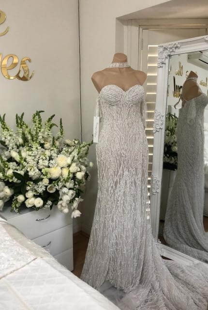 Veronica Al Khoury – Size 12 Fit and Flare dress | Second hand wedding dresses Westmead - 2
