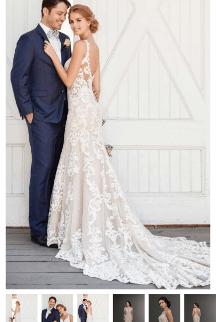 Martina Liana – Size 14 Fit and Flare dress | Second hand wedding dresses Freshwater - 3