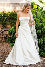 A-Line dress by Halo Bridal