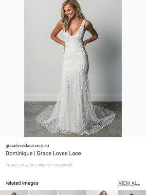 A-Line dress by Grace Loves Lace