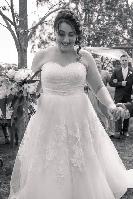 Bespoke / Other – Size 16 A-Line dress   Second hand wedding dresses Lithgow - 7