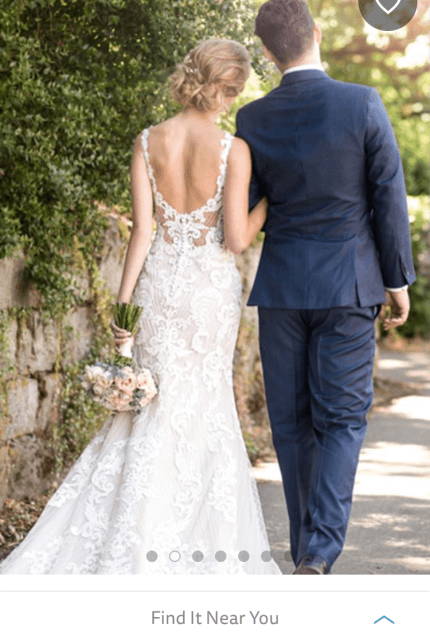 Martina Liana – Size 14 Fit and Flare dress | Second hand wedding dresses Freshwater - 4