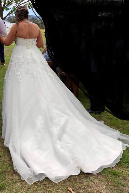 Bespoke / Other – Size 16 A-Line dress   Second hand wedding dresses Lithgow - 4