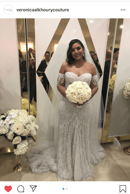 Veronica Al Khoury – Size 12 Fit and Flare dress | Second hand wedding dresses Westmead - Size 12