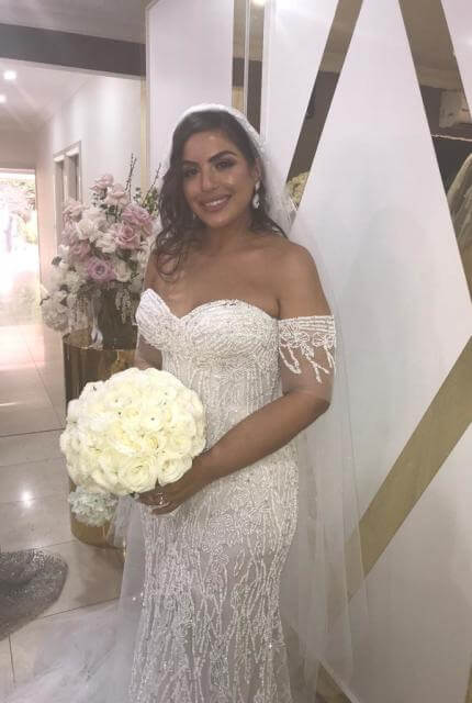 Veronica Al Khoury – Size 12 Fit and Flare dress | Second hand wedding dresses Westmead - 3