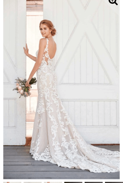 Martina Liana – Size 14 Fit and Flare dress | Second hand wedding dresses Freshwater - Size 14