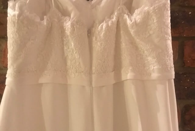 Bespoke / Other – Size 16 Fit and Flare dress | Second hand wedding dresses Tamborine - 3