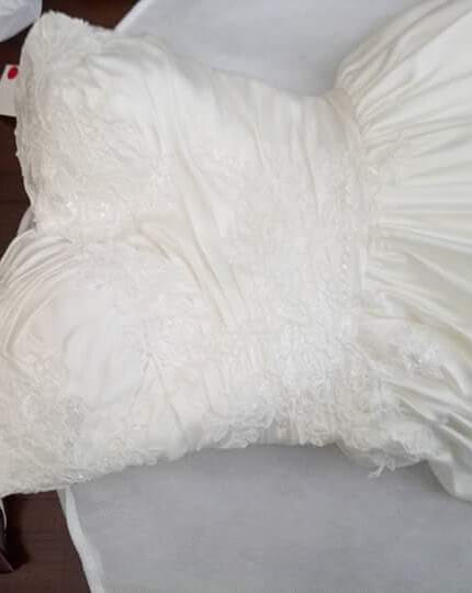 Pozzoni – Size 6 A-Line dress | Second hand wedding dresses Officer - 6
