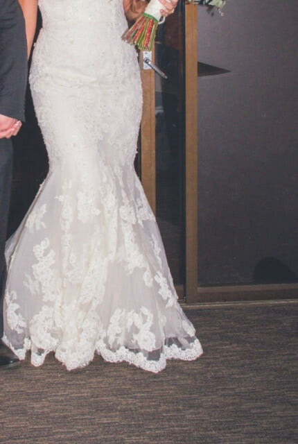 Benjamin Roberts – Size 12 Fishtail dress | Second hand wedding dresses Salisbury - Size 12
