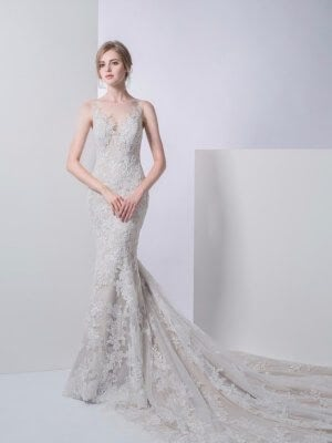 A-Line dress by Emerald Bridal