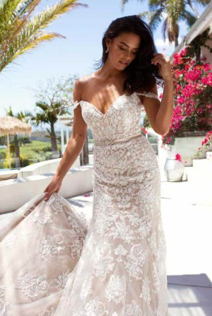 Bespoke / Other – Size 14 Fit and Flare dress | Second hand wedding dresses Tallong - 2