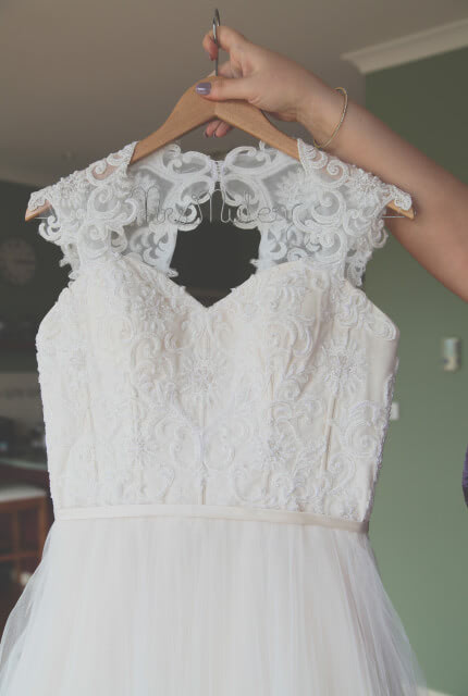 Peter Trends – Size 12 A-Line dress | Second hand wedding dresses Queanbeyan - 6