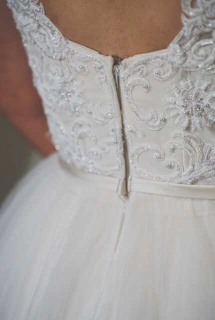 Peter Trends – Size 12 A-Line dress | Second hand wedding dresses Queanbeyan - 5