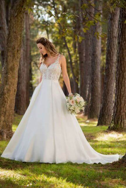 Stella York – Size 6 A-Line dress | Second hand wedding dresses Hughesdale - Size 6