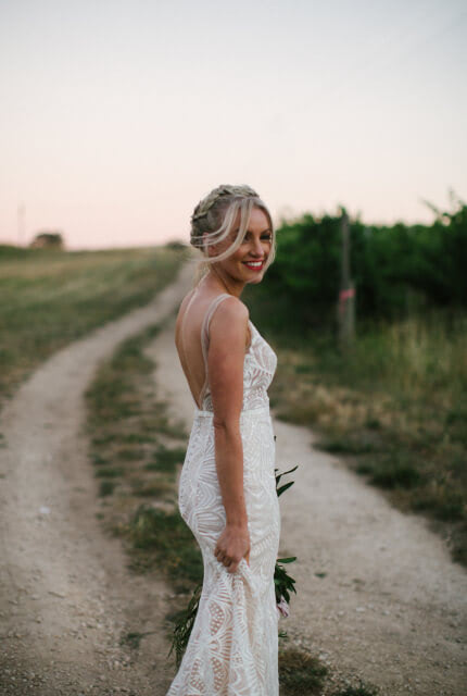 Made With Love – Size 6 Fishtail dress | Second hand wedding dresses Ridgehaven, Adelaide - Size 6