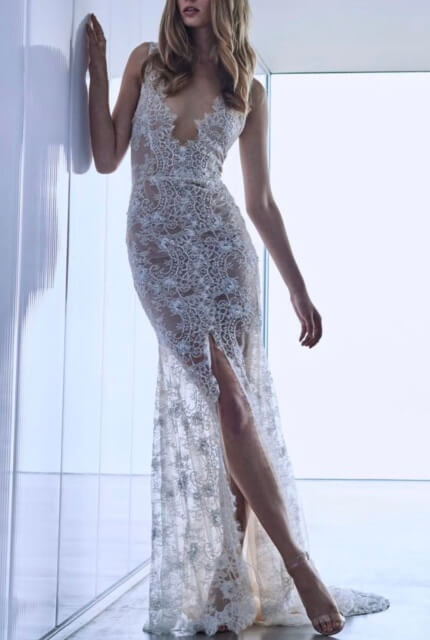 Mariana Hardwick – Size 8 Fit and Flare dress | Second hand wedding dresses Abbotsford - Size 8